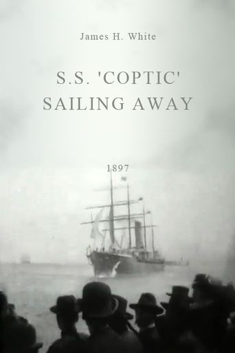 S.S. 'Coptic' Sailing Away Poster