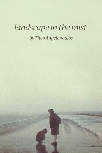 Landscape in the Mist Poster