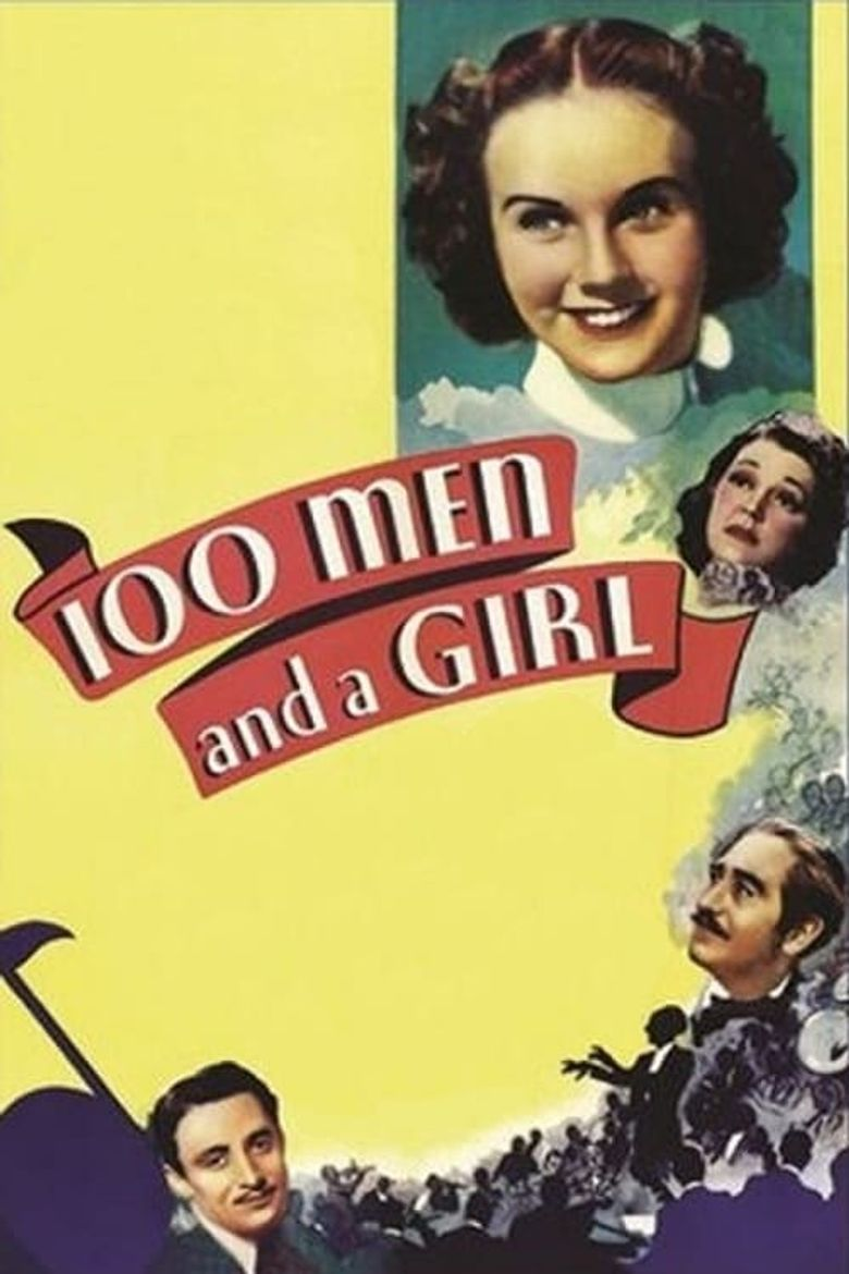One Hundred Men and a Girl Poster