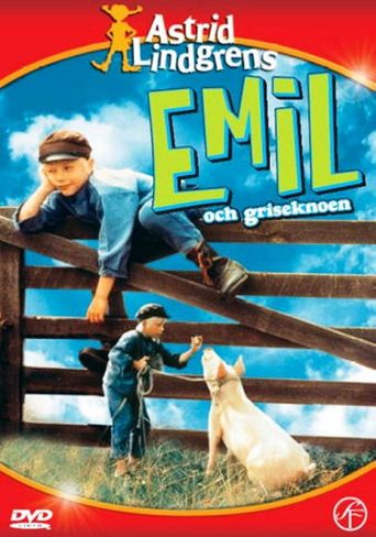 Emil and the Piglet Poster