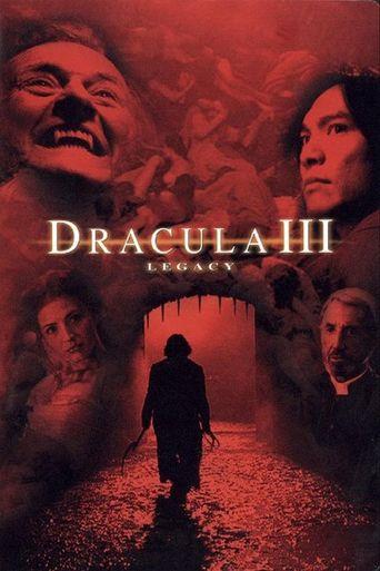 Dracula III: Legacy Poster