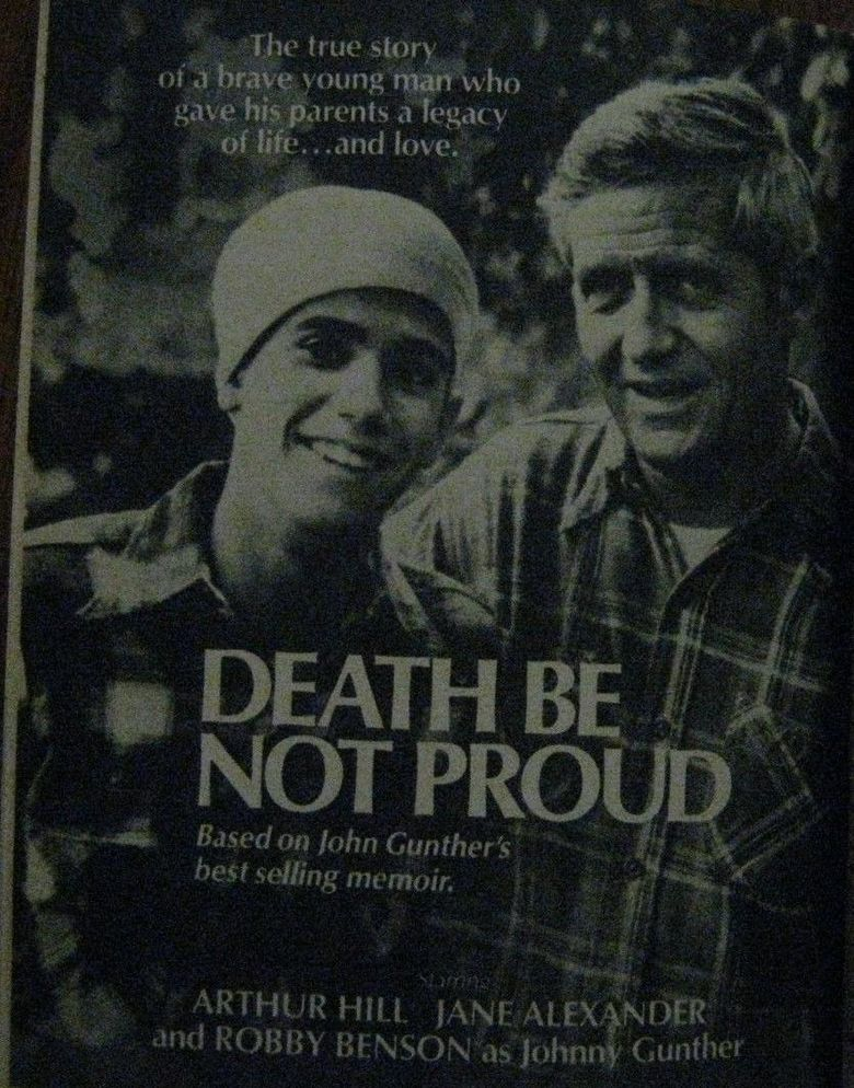 Death Be Not Proud Poster