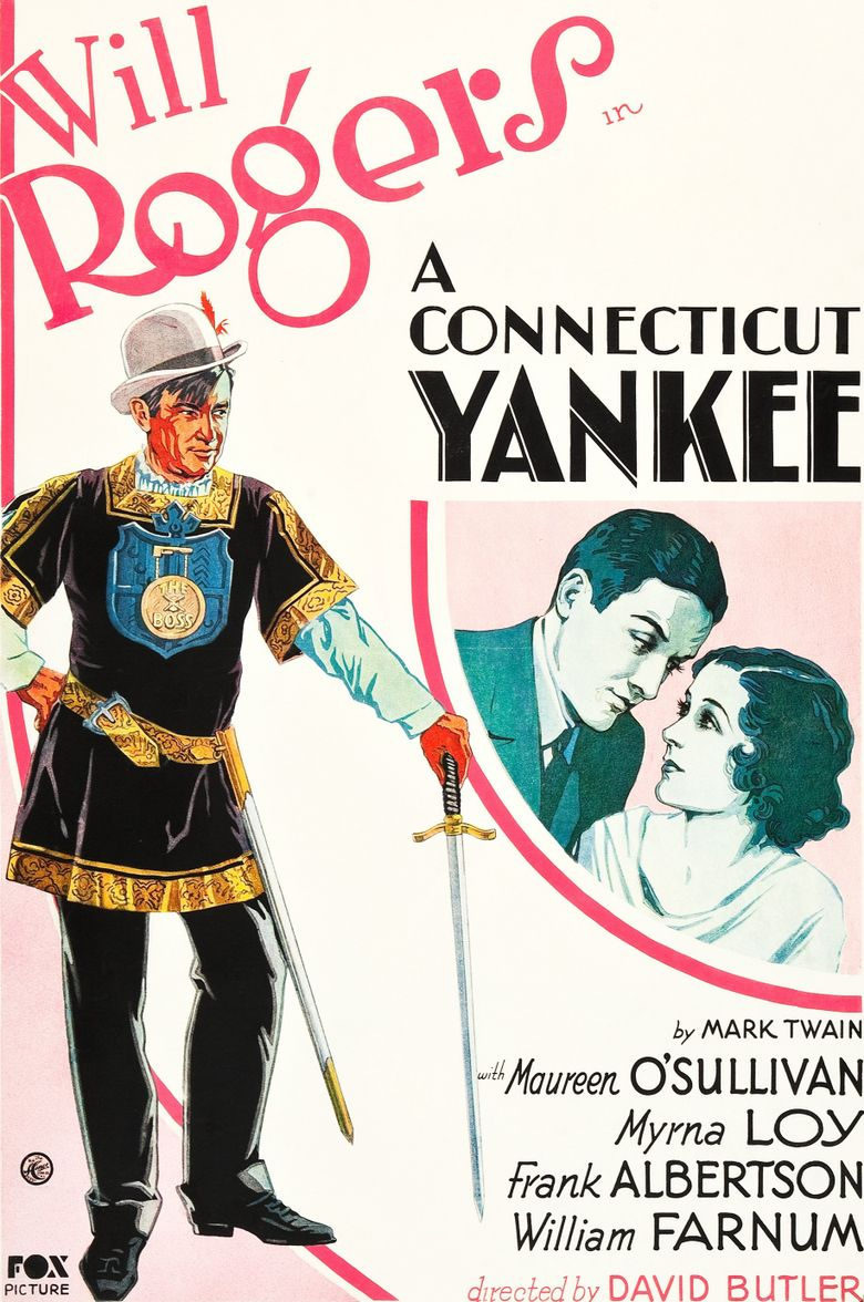 A Connecticut Yankee Poster
