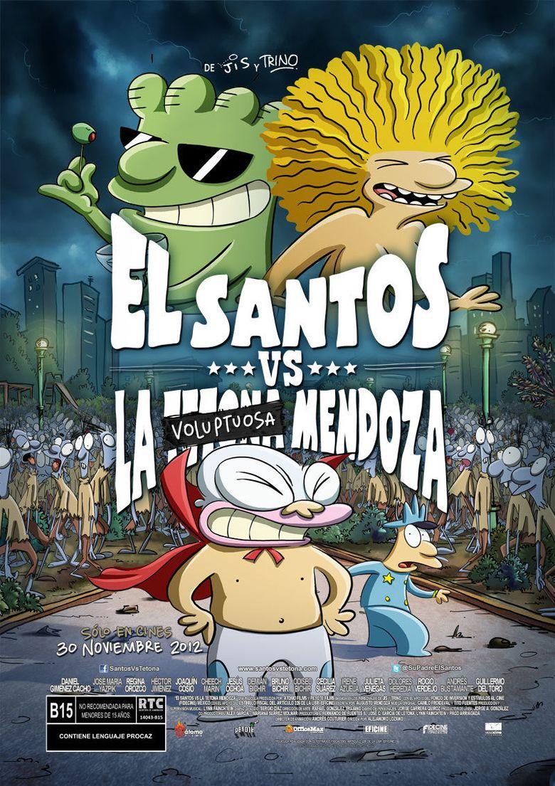 El Santos vs la Tetona Mendoza Poster