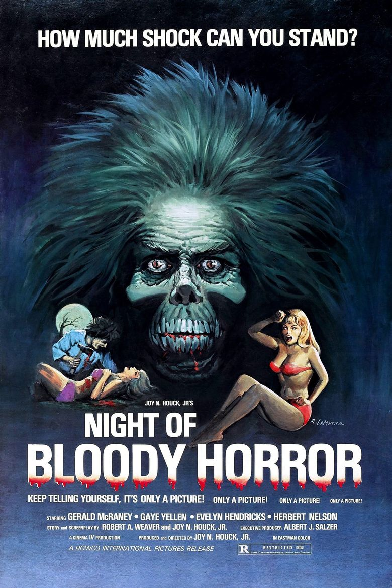 The Night Of Bloody Horror Poster