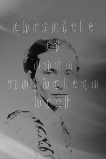 Chronicle of Anna Magdalena Bach Poster