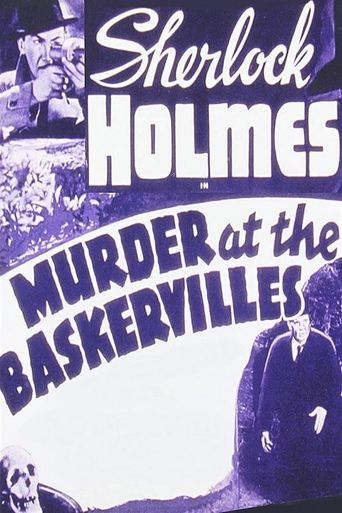 Murder at the Baskervilles Poster
