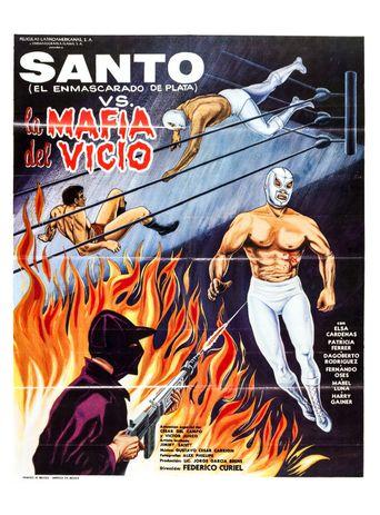 Santo vs. the Vice Mafia Poster