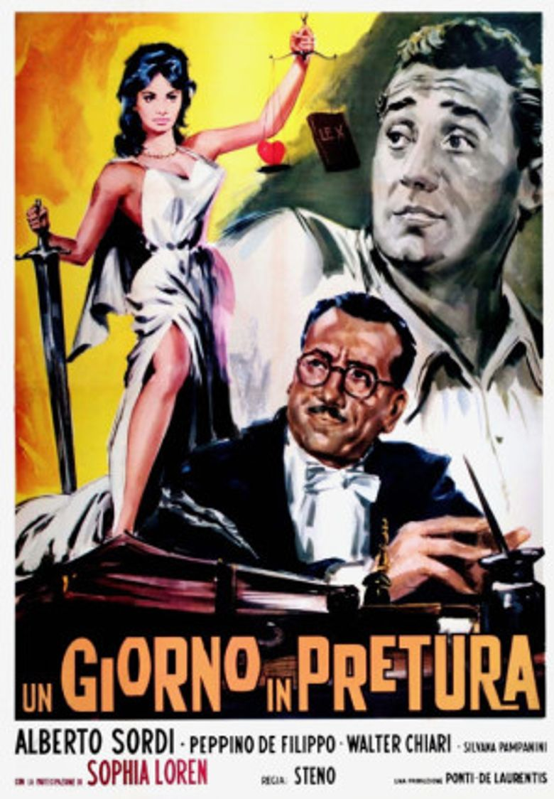 A Day in Court Poster
