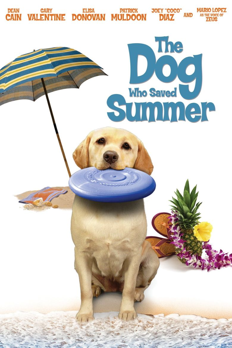 The Dog Who Saved Summer Poster