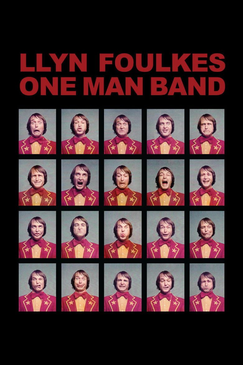 Llyn Foulkes One Man Band Poster