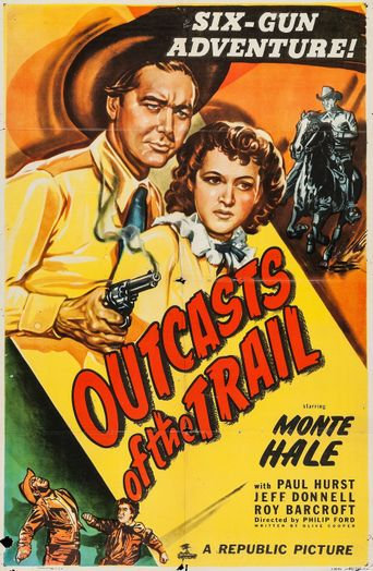 Outcasts of the Trail Poster