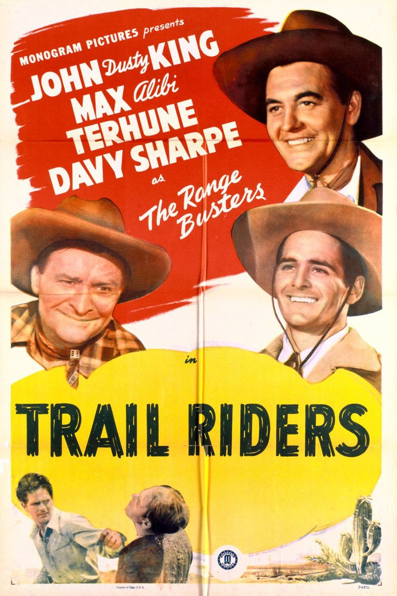 Trail Riders Poster