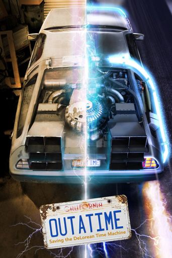 OUTATIME: Saving the DeLorean Time Machine Poster
