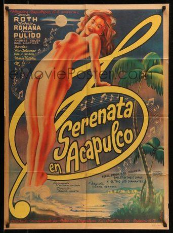 Serenata en Acapulco Poster