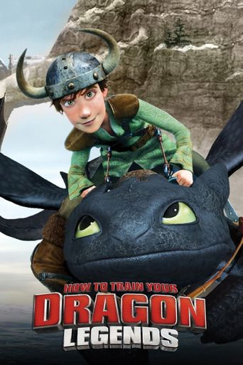 How to Train Your Dragon - Legends Poster