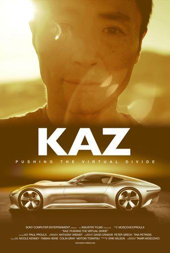 Kaz: Pushing the Virtual Divide Poster