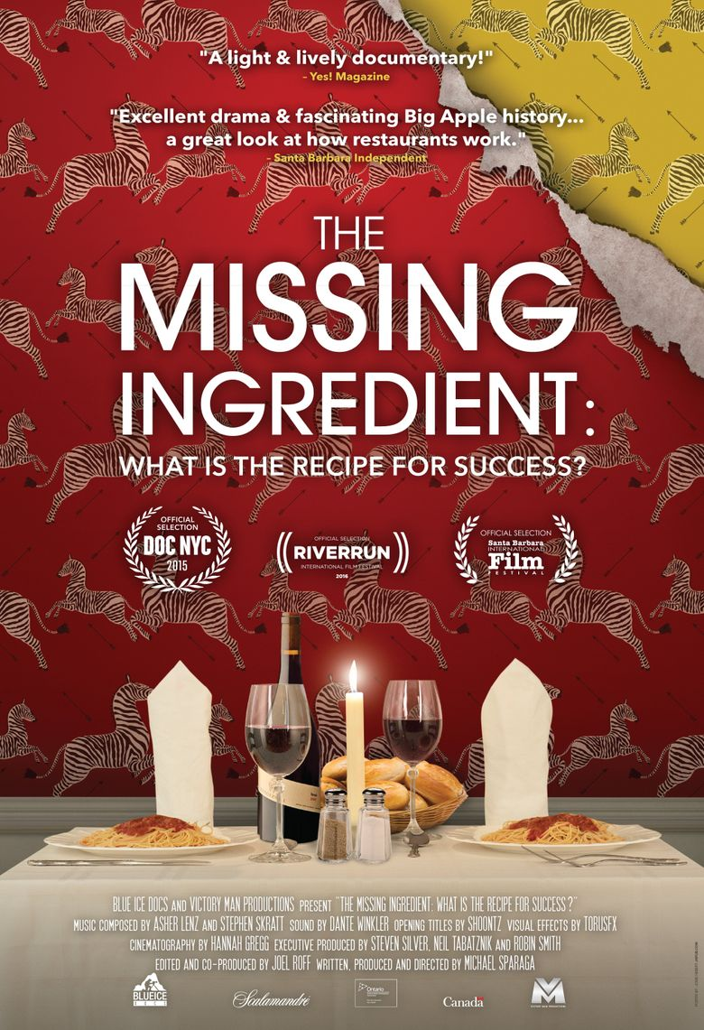 The Missing Ingredient Poster