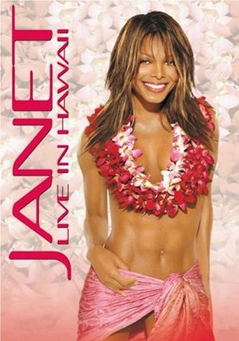 Janet: Live in Hawaii Poster