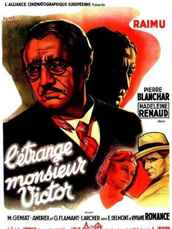 Strange M. Victor Poster