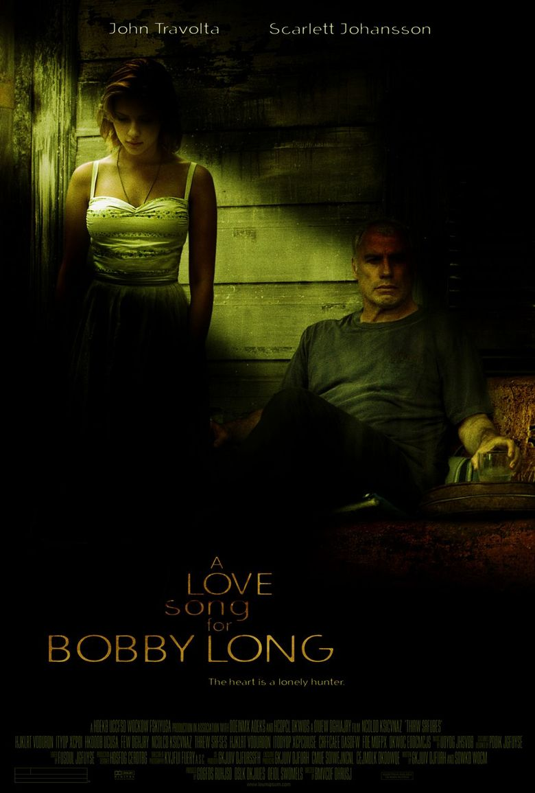 A Love Song for Bobby Long Poster