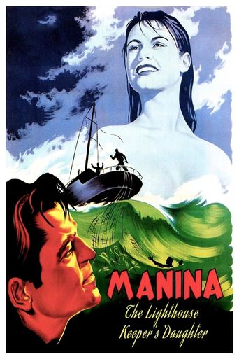 Manina, the Lighthouse-Keeper's Daughter Poster