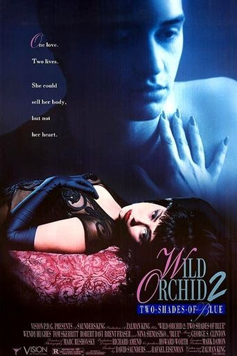 Wild Orchid II: Two Shades of Blue Poster