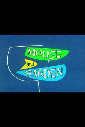 Mouse and Garden Poster