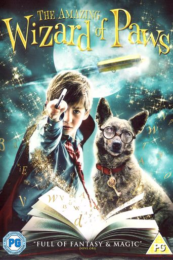 The Amazing Wizard of Paws Poster