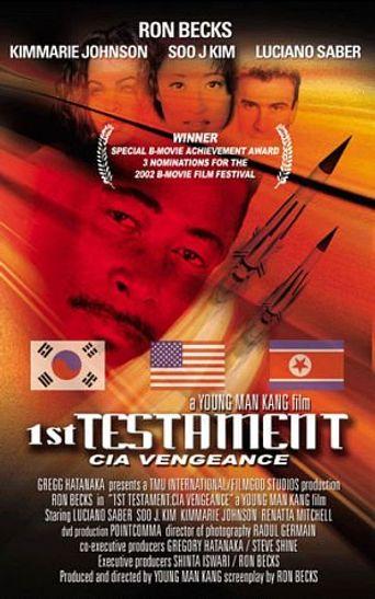 1st Testament: CIA Vengeance Poster