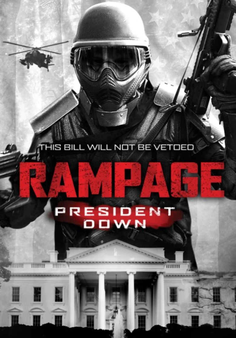 Rampage: President Down Poster