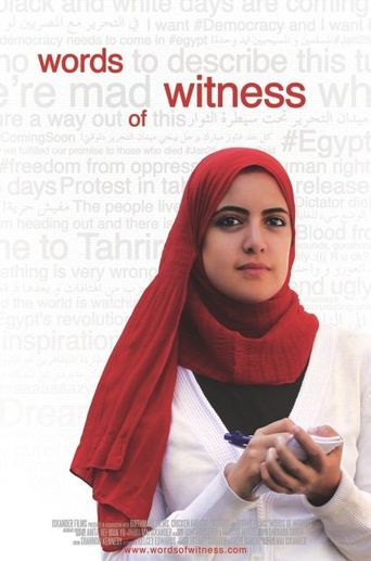 Words Of Witness Poster