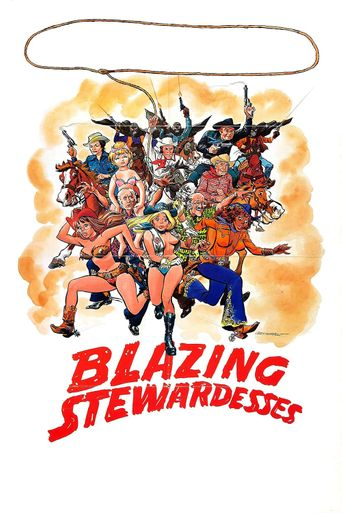 Blazing Stewardesses Poster