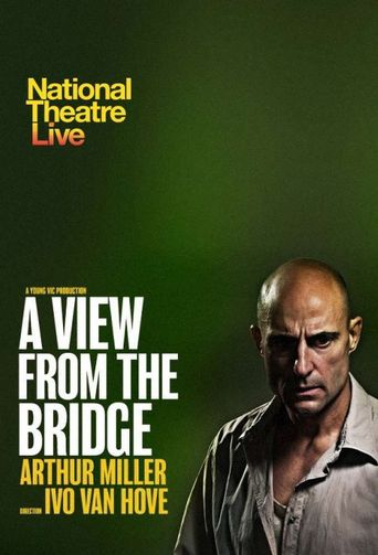 National Theatre Live: A View from the Bridge Poster