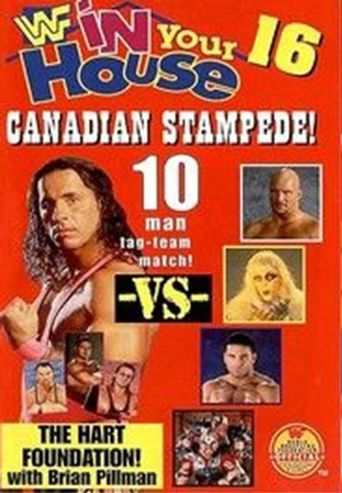 WWE In Your House 16: Canadian Stampede Poster