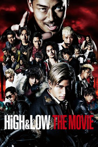 HiGH&LOW The Movie Poster