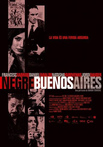 Black Buenos Aires Poster