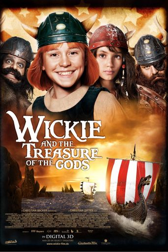 Vicky and the Treasure of the Gods Poster