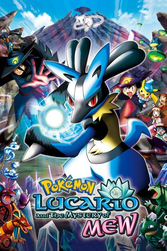 Pokémon: Lucario and the Mystery of Mew Poster