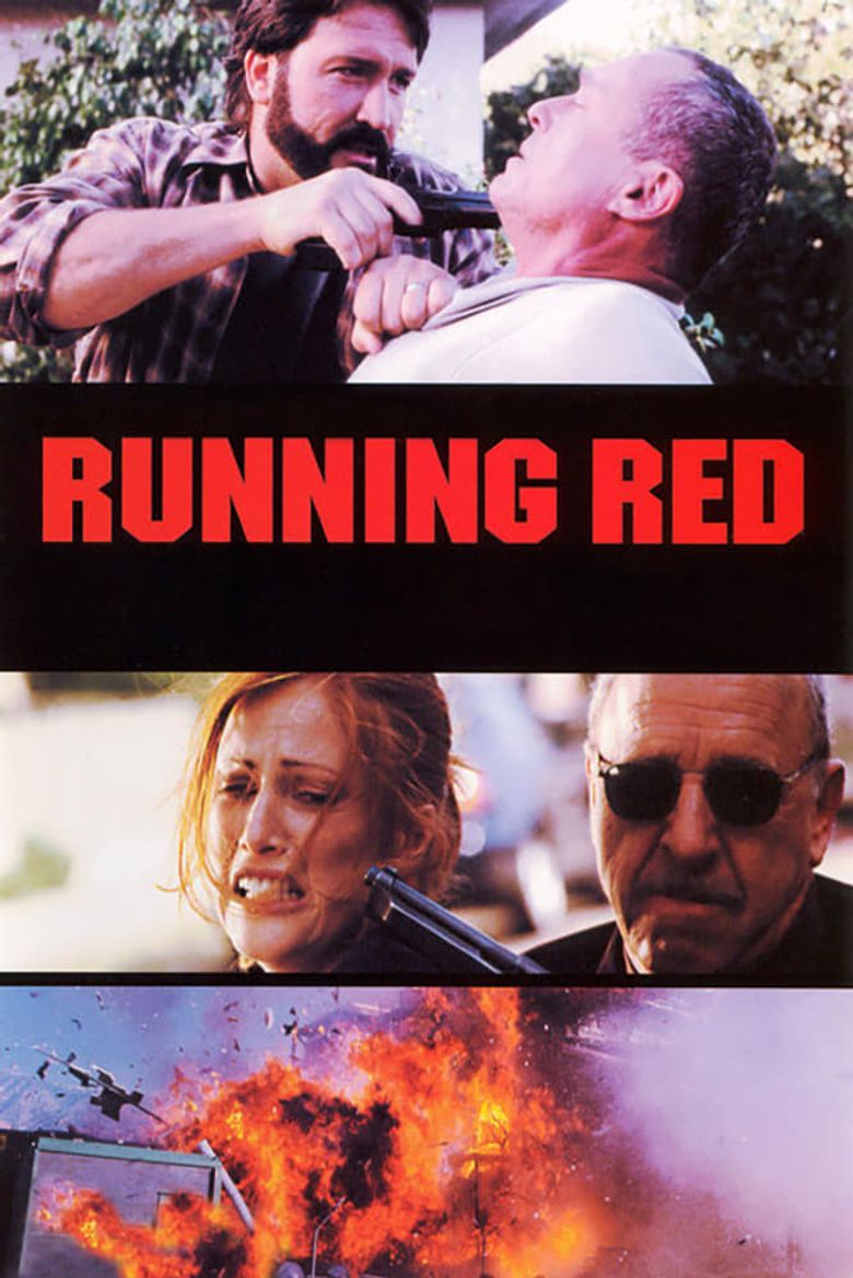 Running Red Poster