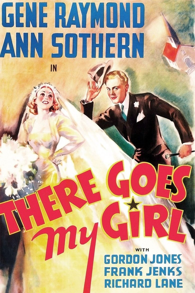 There Goes My Girl Poster
