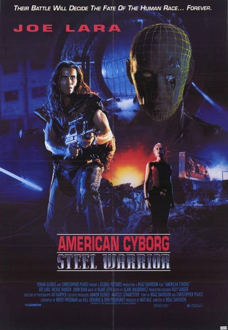American Cyborg: Steel Warrior Poster