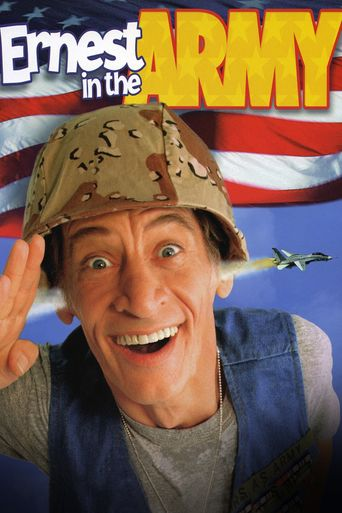 Ernest in the Army Poster