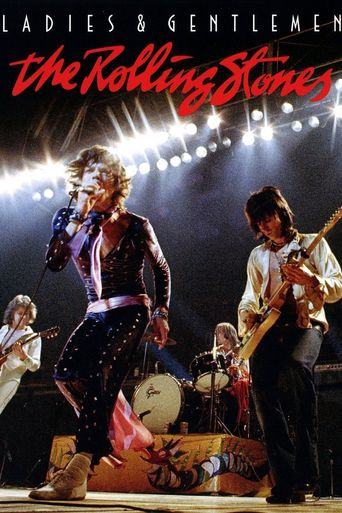 Ladies & Gentlemen: The Rolling Stones Poster
