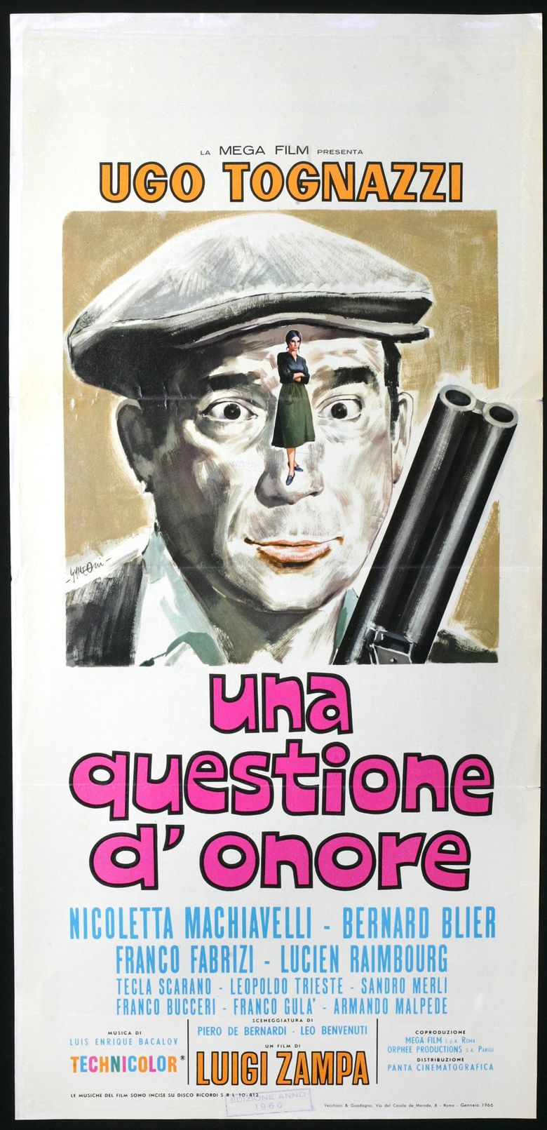 Una questione d'onore Poster
