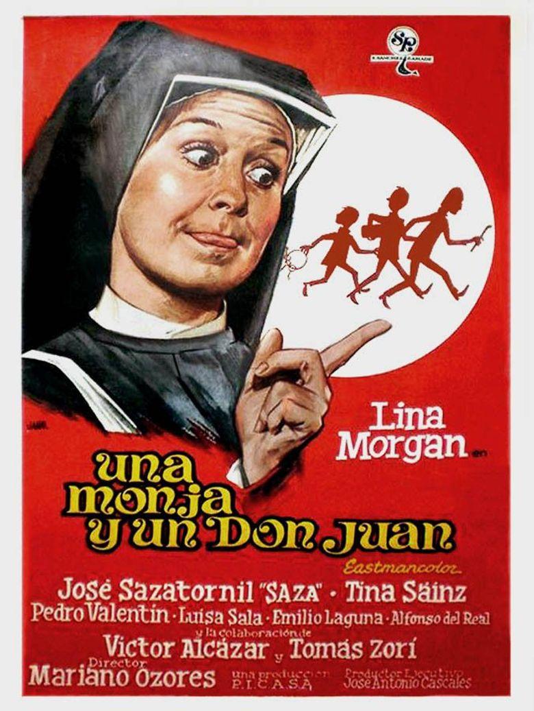Una monja y un Don Juan Poster