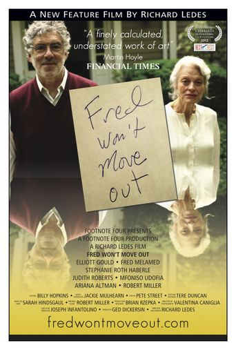 Fred Won't Move Out Poster