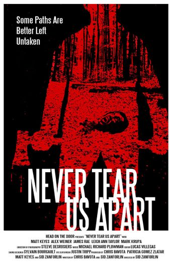 Never Tear Us Apart Poster