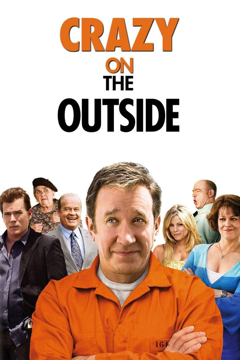 Crazy on the Outside Poster