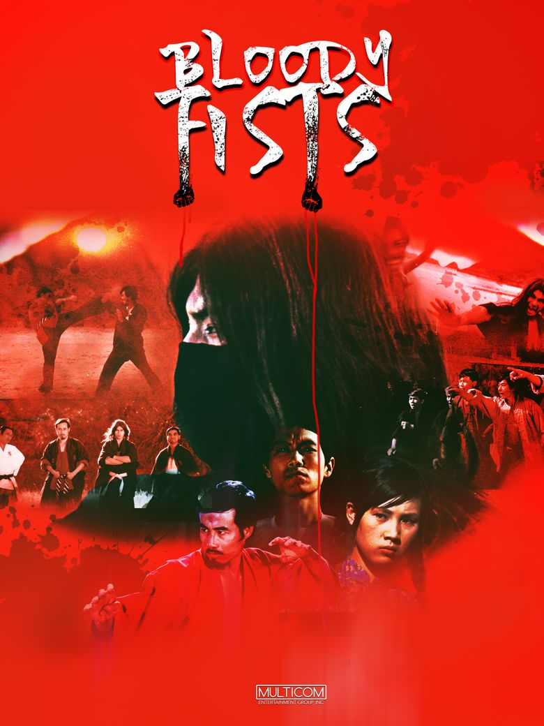 The Bloody Fists Poster